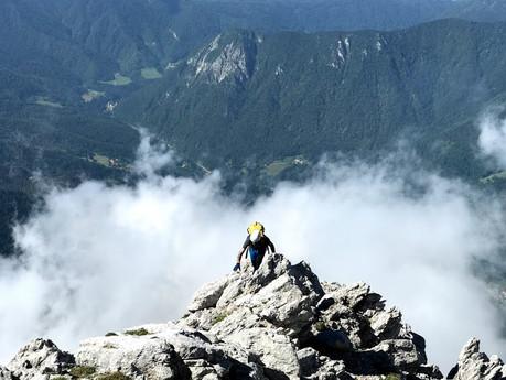 Južni greben Kočne (Na Križu, Kokrska & Jezerska Kočna, Grintovec)
