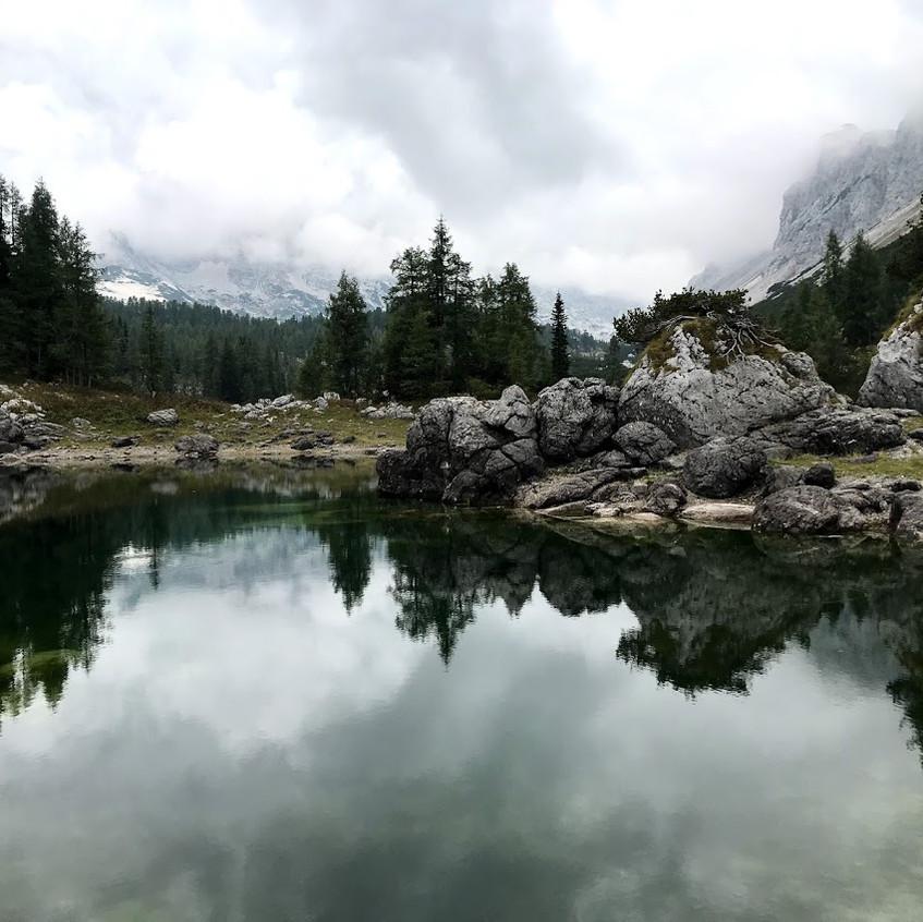 Prvo jezero - malica