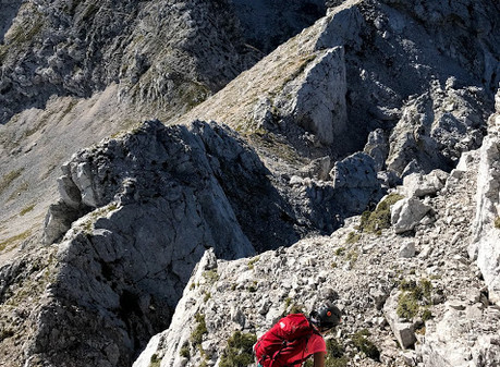 Grebensko prečenje Mahavšček - Podrta gora