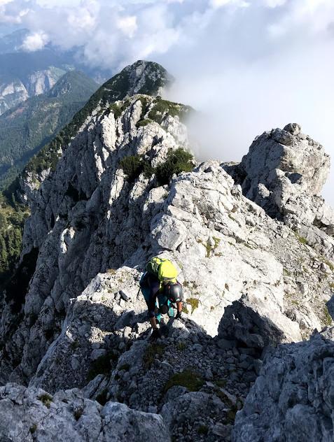 Tik pod vrhom Krofičke