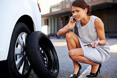 If you ever have a flat tire in Arlington, call us immediately.