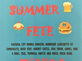 Fete on Sunday 23.6.19