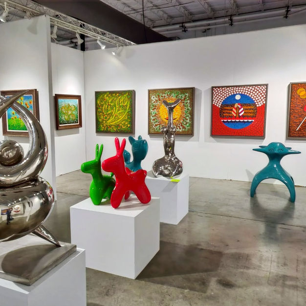 Red Dot Art Fair 2019 Chinese Cultural Media Group Exhibition