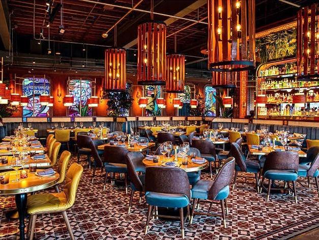 Chica Restaurant's Furniture and Art Instllation
