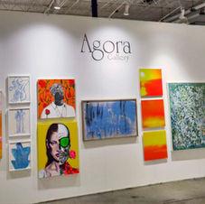 Red Dot Art Fair 2019 Agora Gallery Exhibition