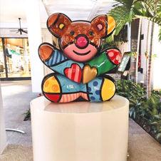 Friendship Bear by Romero Britto