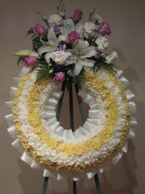 """26"""" funeral wreath(SF 021)"""