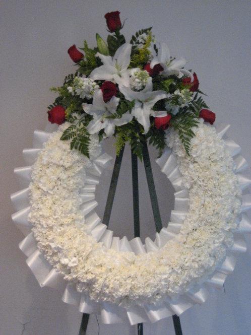"""26"""" funeral wreath (SF 019)"""