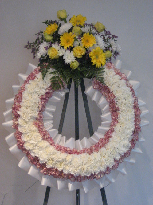 "26"" funeral wreath (SF 023)"