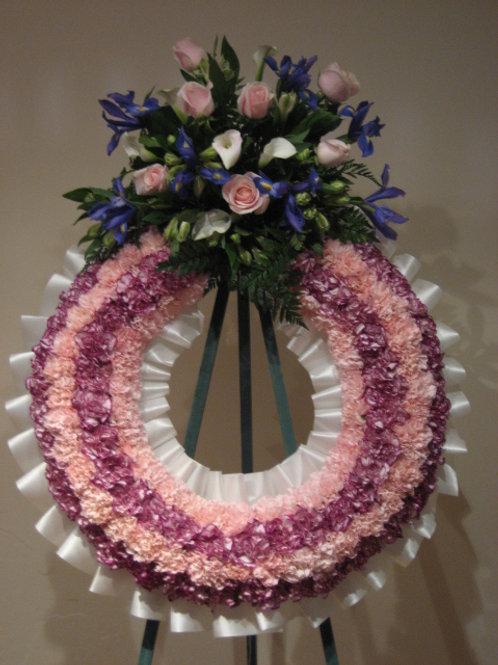 """26"""" funeral wreath (SF 020)"""