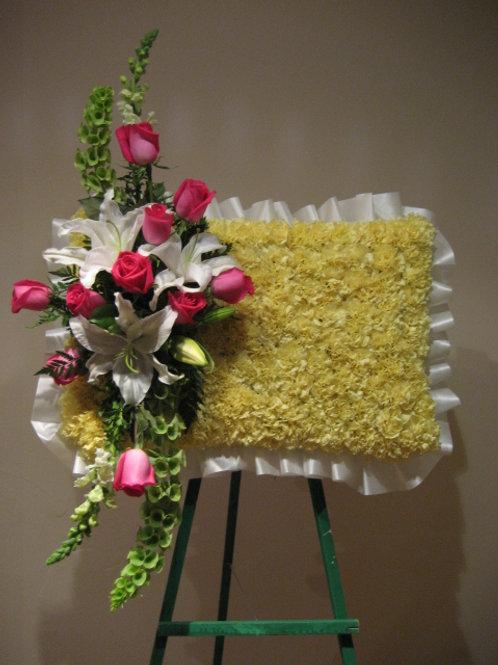 Funeral Arrangement in Pillow shape (SF 031)
