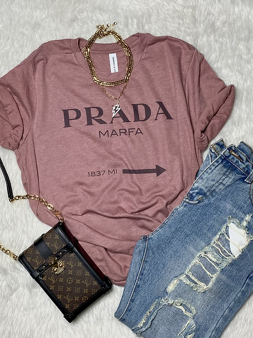 Marfa Please T-shirt (Vintage Feel)