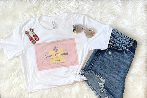 Rose' ALL day Tee Shirt (Vintage Feel)