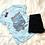 Thumbnail: West Coast 93 Graphic T-shirt ( Vintage Feel ) Band Tee