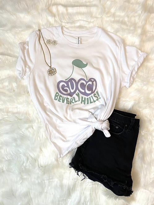 Grape Vibes Graphic T-shirt ( Vintage Feel )