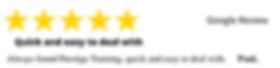All 5 Star Reviews Prestige Training (3)