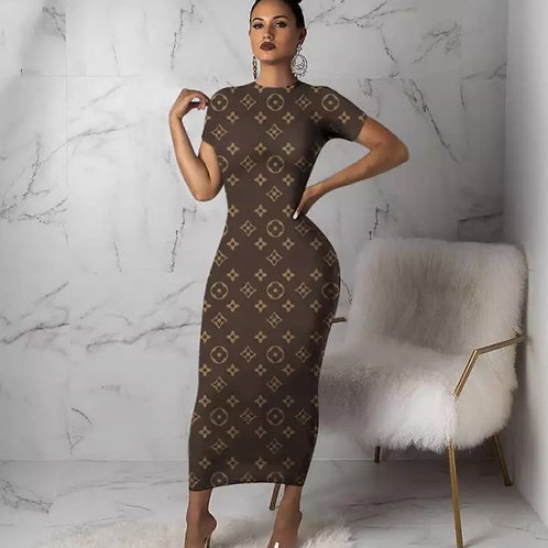 LV Long Dress