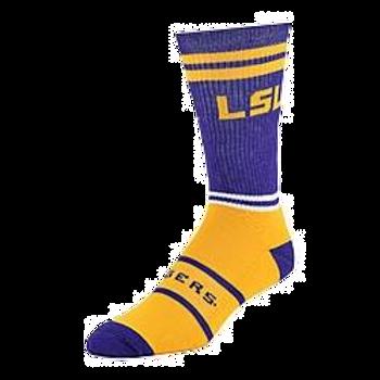 LSU Tigers Crew Socks