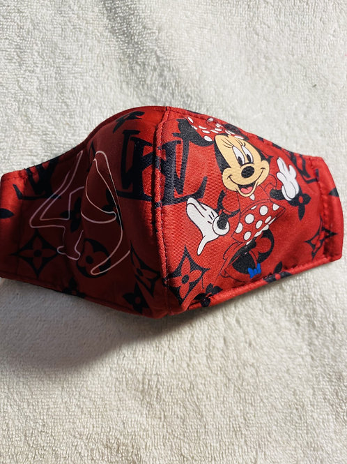 LV Minnie Kids Mask