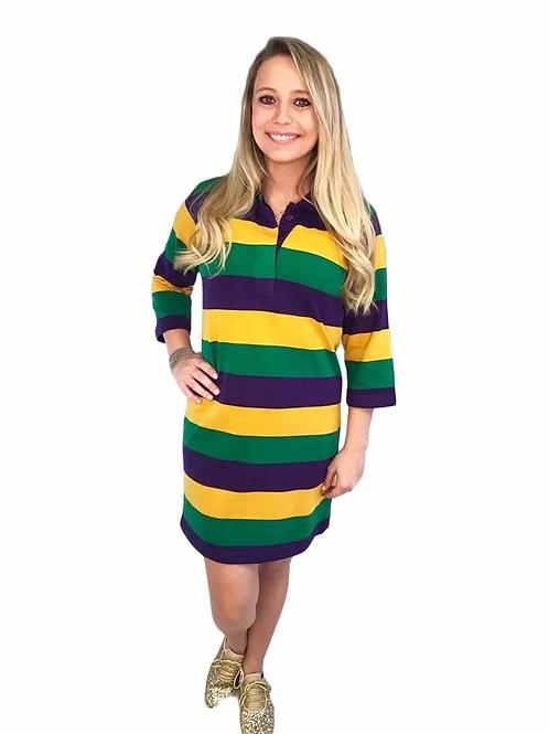 Mardi Gras Rugby Dress