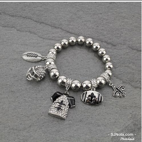 Football Theme Bracelet