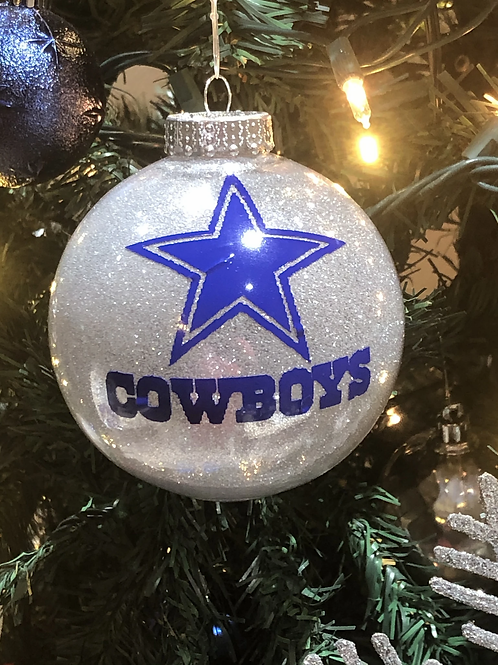"Christmas ""Cowboys"" Ornaments"