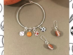 The Fan Zone - Let's Make Sports Jewelry!
