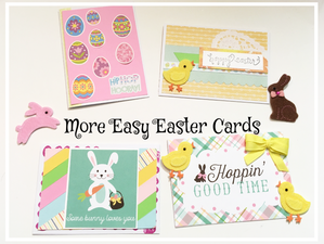 More Easy Easter Cards