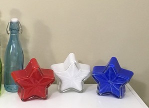 Painted Dollar Tree Stars