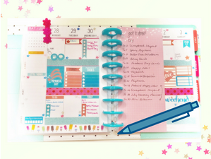 Memorial Day Week Happy Planner Layout