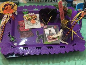 DIY Halloween Tray