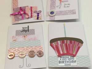 Making Birthday Cards From Your Scraps