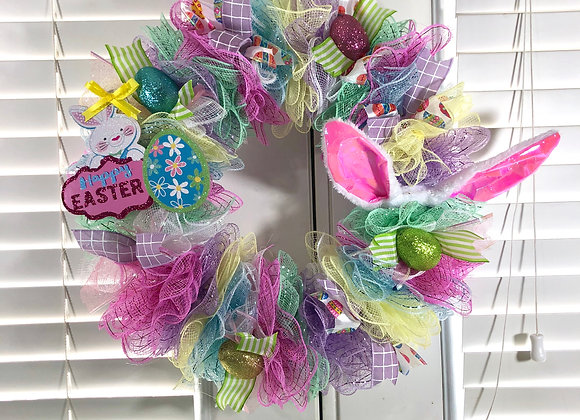 Bunny Ears Wreath