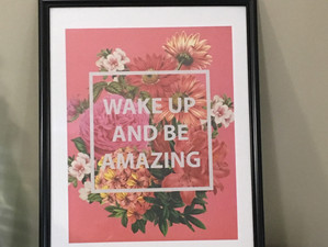 Wall Art - Making Your Own Matte and Framing Art From Paper Pads