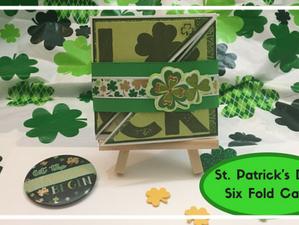 St. Patrick's Day Six Fold Card