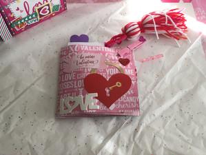 Valentine's Day Flipbook for Friend Mail