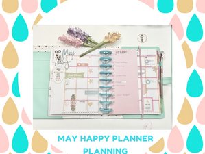 May Happy Planner Planning