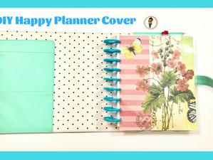 DIY Happy Planner Cover