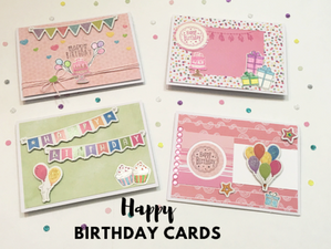 Happy Birthday Cards For Your Stash