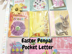 Easter Penpal Pocket Letter