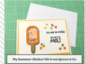 My Summer Shaker Kit From Queen & Co