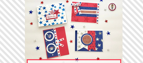DIY Independence Day Cards