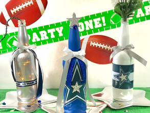The Fan Zone - Sports Decorated Wine Bottle