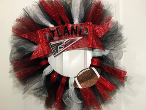 The Fan Zone: DIY Football Wreath