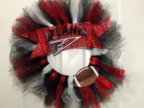The Fan Zone: DIY Football Wreath