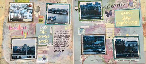 My London Scrapbook - The beginning
