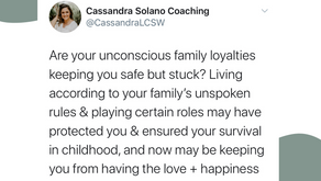 Unconscious Family Loyalties