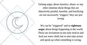 Are You Experiencing A Trigger Or Righteous Anger?