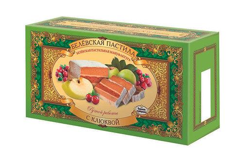 Belyov Apfelschnitte mit Moosbeeren (mit Zucker), 100g