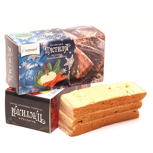 Geschenkverpackung Belyov Apfelschnitte mit Zimt, 180g
